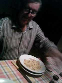 Adam en Toscana Italia