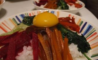 bibimbap plato coreano