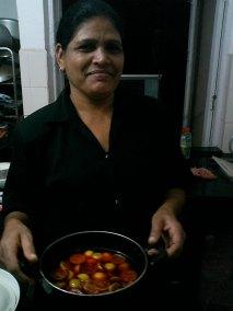 Catherine en Goa India