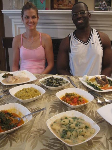 cena privada mozambicana