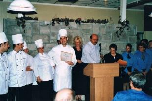 Graduación en el CFP escuela culinaria en Jonquiere, Quebec 2006