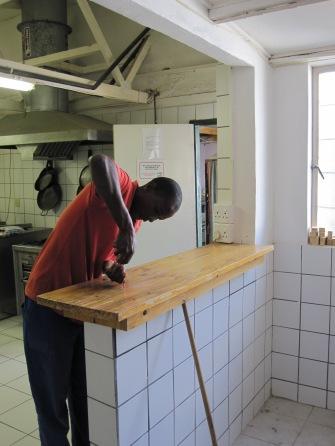 cocina en Namibia después de la renovación 1