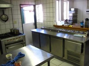 cocina en Namibia renovada