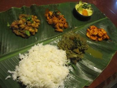 comida de Goa, India