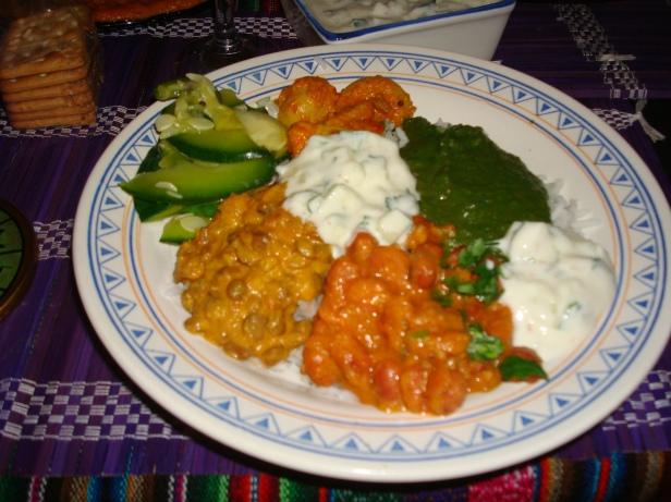 comida hindú