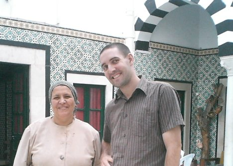 intercambio con Fatma en Túnez