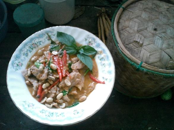 panang curry tailandés