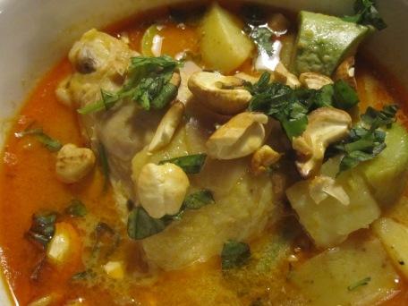 curry tailandés