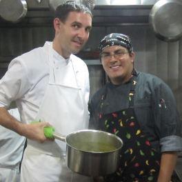 Guru Miguel Ángel in Guzina Oaxaca restaurant, DF Mexico