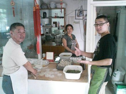 Hu Guolin, Du Ya Shen, He Jia Ing en Sichuan, China