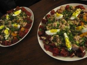 ensalada de verduras cocidas de Túnez
