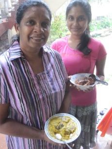 Anula and Thatya en Sri Lanka
