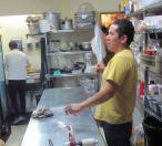 Guru Wenceslao in Piloncillo y Cascabel restaurant, DF Mexico