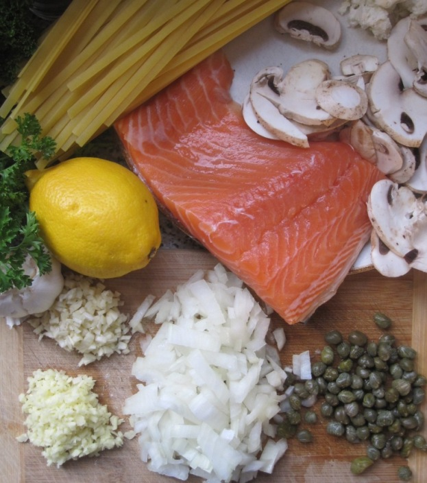 ingredientes para pasta