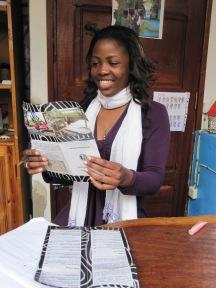 menú para proyecto en namibia
