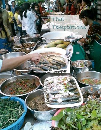 menú tailandés exterior