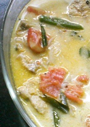 pescado moilee de kerala