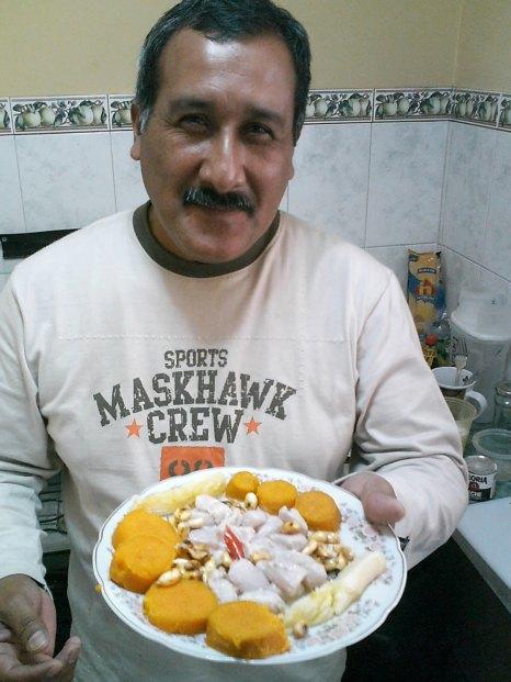 Peter en Lima Perú