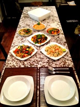 curso de cocina tailandesa para un compañero en Toronto, Canadá