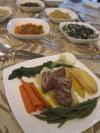 platos mozambicanos para cena privada