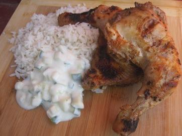 pollo tandoori de la india