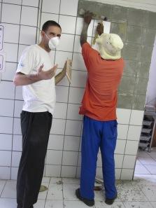 renovando la cocina en namibia