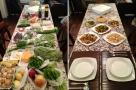 clase de cocina tailandesa, antes y después - before and after, thai cooking class