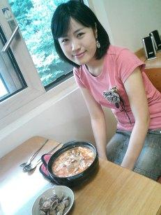 Sue en Seoul Corea