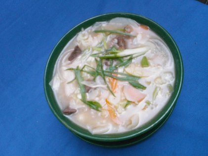 Nepali thentuk soup