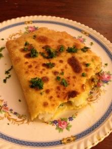 plato 'brique à l'oeuf' de Túnez