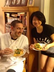 Listos para comer, evento culinario para Claudia y amigos, 17 de agosto 2013
