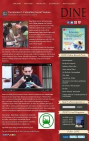 artículo en DINE Magazine