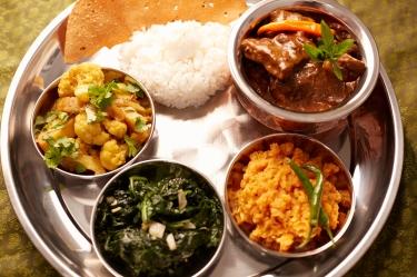 sesión de fotografía con Mike Barlas: comida de Nepal