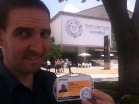 With My Participant Badge