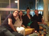 Guests enjoying their evening