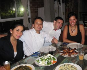 With Katerine, Juan Sebastián and Pili